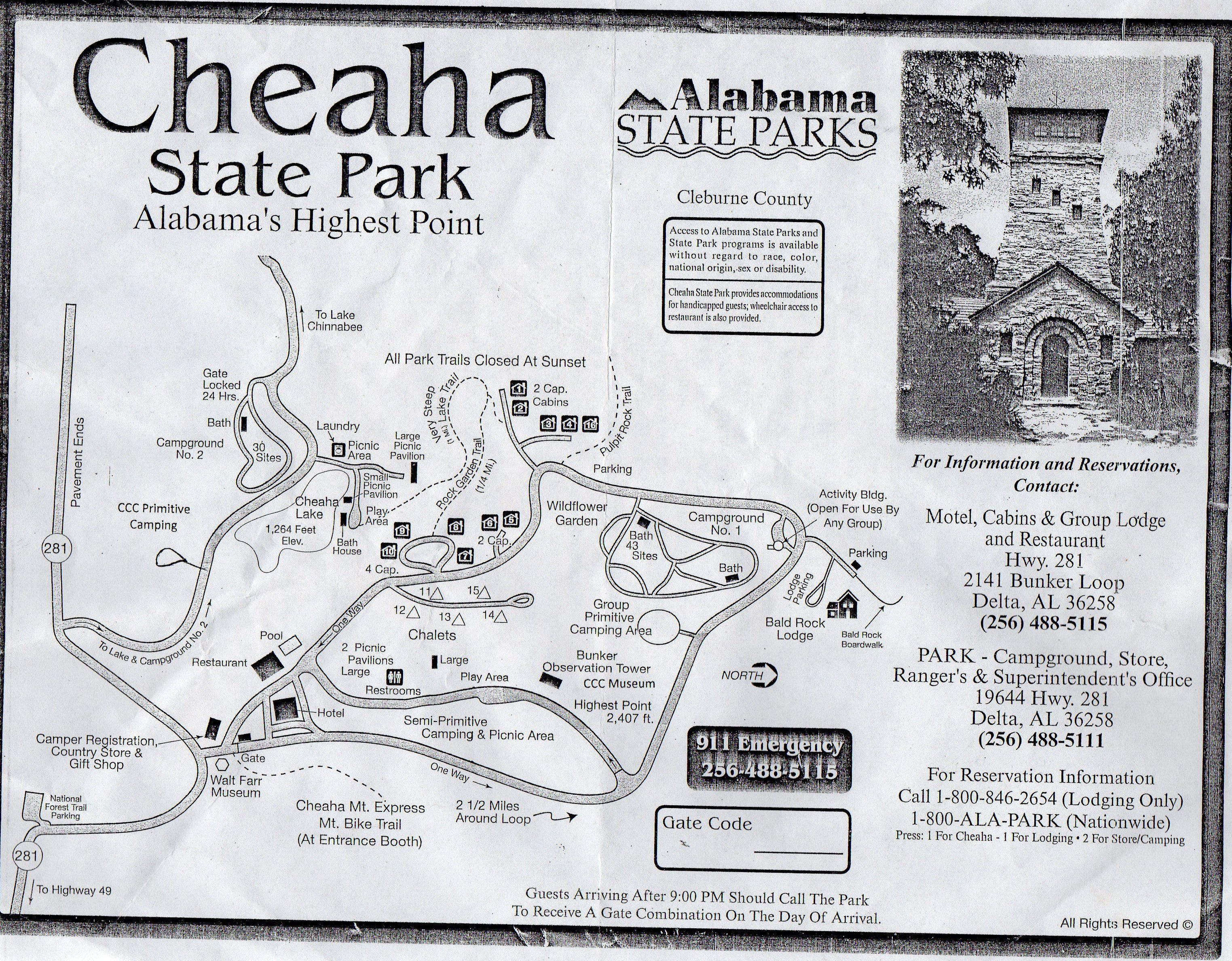 My Hiking Cheaha SP, Alabama sketch map on chehaw park campground map, alabama state map, mt. cheaha map, forest park hiking trails map, mount cheaha trail map, cheaha mountain hiking trail map, blauvelt state park trail map,